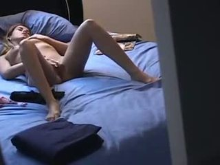 My sister masturbates every day Video