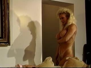 blondīnes, big boobs, trijatā