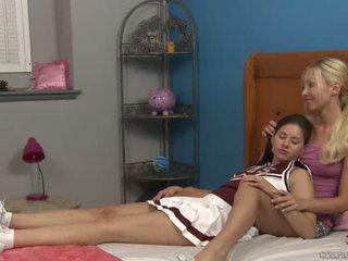 Shyla jennings und aaliyah liebe bei cheer camp