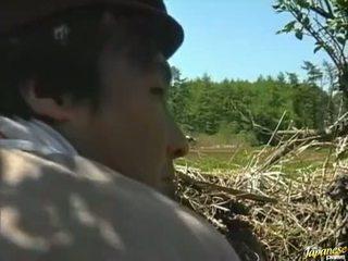 hrubý, vonku, sex