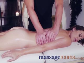 Massage Rooms Young innocent virgin has pussy ravaged by Halloween ghoul