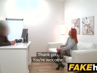 Fake agent napalone ruda prefers ciężko kutas przez mokre cipka