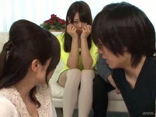 japonez, sex în grup, muie