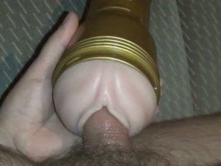 tõmblev, cumshot, masturbation