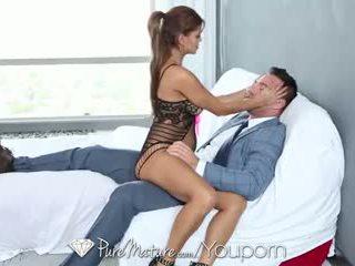 blowjob, big tits, facial, mature, bianca, latina
