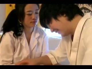 Glorious vip koreansk barmfager i brothel