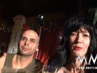 Mmv फिल्म्स वाइल्ड मेच्यूर swingers पार्टी