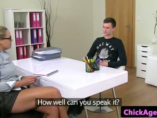 Czech Casting Agent Riding Amateurs Cock, Porn 7c