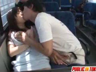 Yua Kuramochi Busty Is Fucked On The Bus