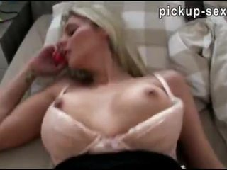 Czech slut Katka paid for hardcore fucking with perv stranger