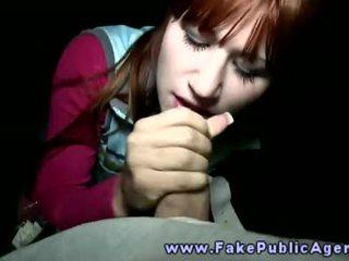 Fake javno agent promisses an amaterke punca da on bo prihajanje na ji obraz