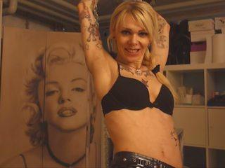 tetovējumi, tūpļa, femdom