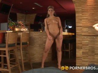 Porner Premium: Czech blondie pov blowjob & anal