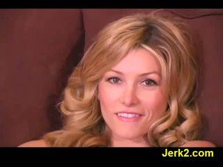 Karstās blondīne heather vandeven uz seksuālā veļa video