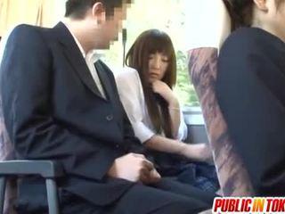 japoński, seks w miejscach publicznych, reverse cowgirl