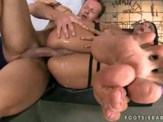 fetisch, voeten, footjob