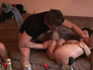 Pregnant Girl On Sex Party