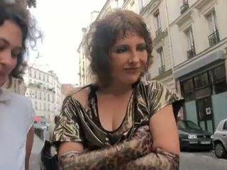 francese, milfs, terzetto
