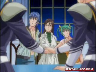 Hentai φοιτήτρια με μεγάλος βυζιά gets σκληρά penetrated