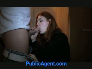 可爱 红发 anals 为 金钱!