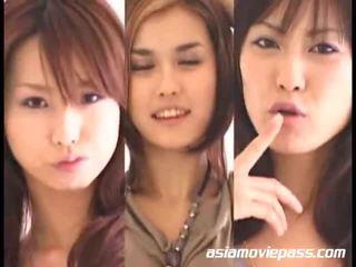 Aziatisch meisjes swallowing semen