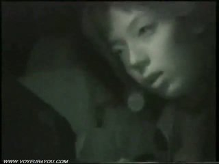 Outdoor Night Car Sex By Infrared Camera
