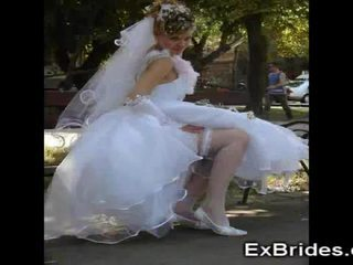 Real brides upskirts!