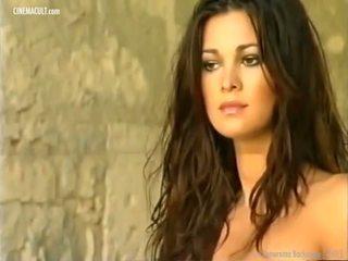 Manuela arcuri - 2001 calendar sa likod ng entablado, pornograpya d8