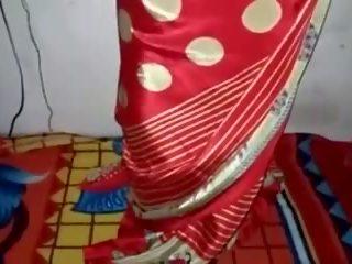 satin, silk, saree