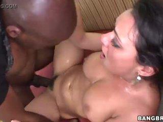 cock, brunette, bbc