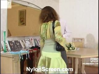 Sophia And Mike Wet Stockings Movie