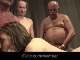 古い 若い 輪姦