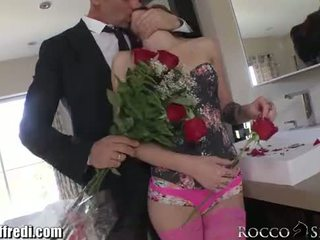 Young Natural Babe Pounded by Rocco Siffredi