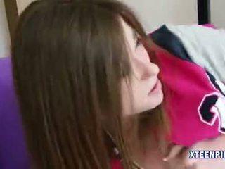 Innocent teen girl Terra Cox creampied