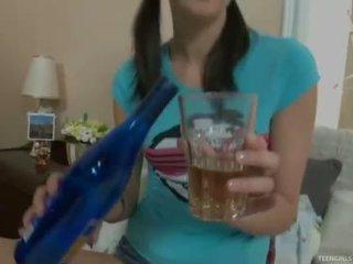 drunk, teen