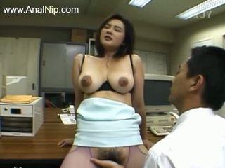 Perfect harig anaal seks van koreaans