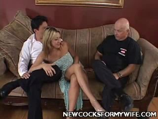 cuckold thumbnail, quality mix scene, all wife fuck