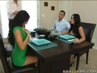 Husbands swap vrouwen vorig naar dinner