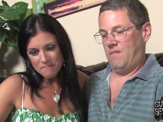 हज़्बेंड watches pair oustanding ब्लॅक zonkers bump उसके वाइफ में यह कुक्कोल्ड band penetrate