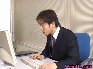člověka velký péro kurva, japonec, boss