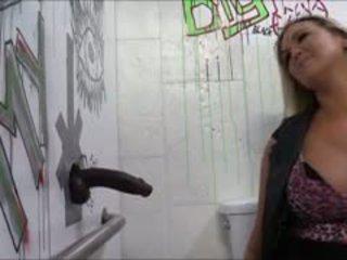 Booby blondynka hoe abbey brooks anal fucked przez duży czarne kutas