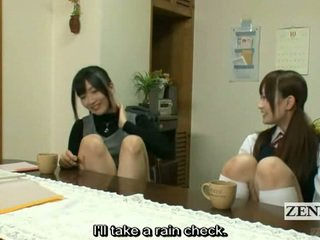 Subtitled Lesbian Japanese Teacher Bath With Schoolgirl