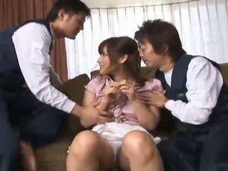 japanse, groepsseks, aziatische meisjes