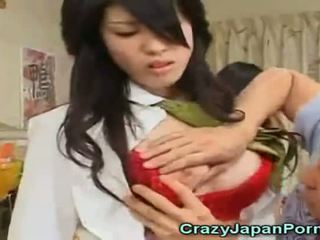 Crazy Porn With Japanese Waitresses!