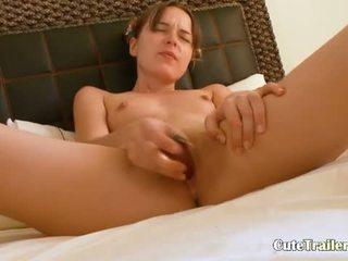 Heerlijk parels in haar vagina kut