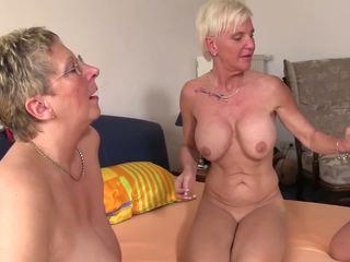 sesso di gruppo, grannies, matura