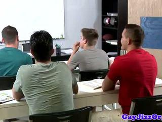 Ejaculação loving professora dominated em classe