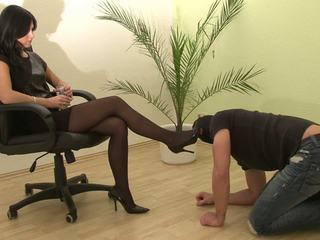 foot fetish, femdom, stockings