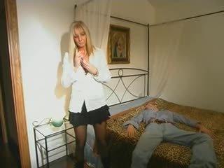 blondinke, mame in boys, hardcore