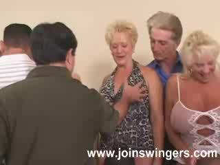 swingers, babička, starý